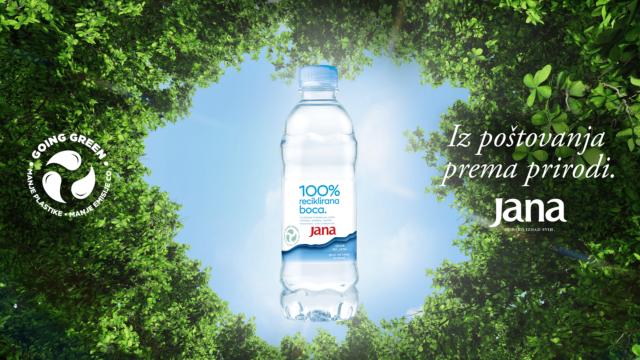 jana, održivost, iz poštovanja prema prirodi, rpet, reciklirana plastika